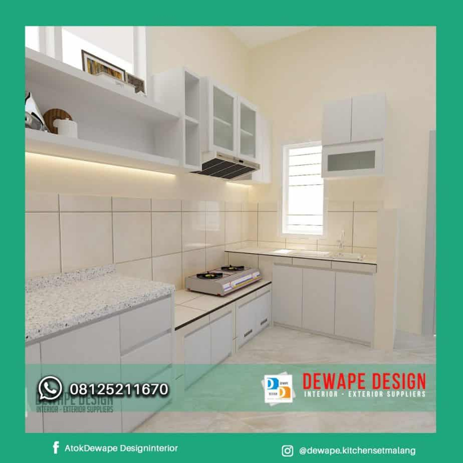 Harga Kitchen Set Di Malang Dewape Kitchen Set