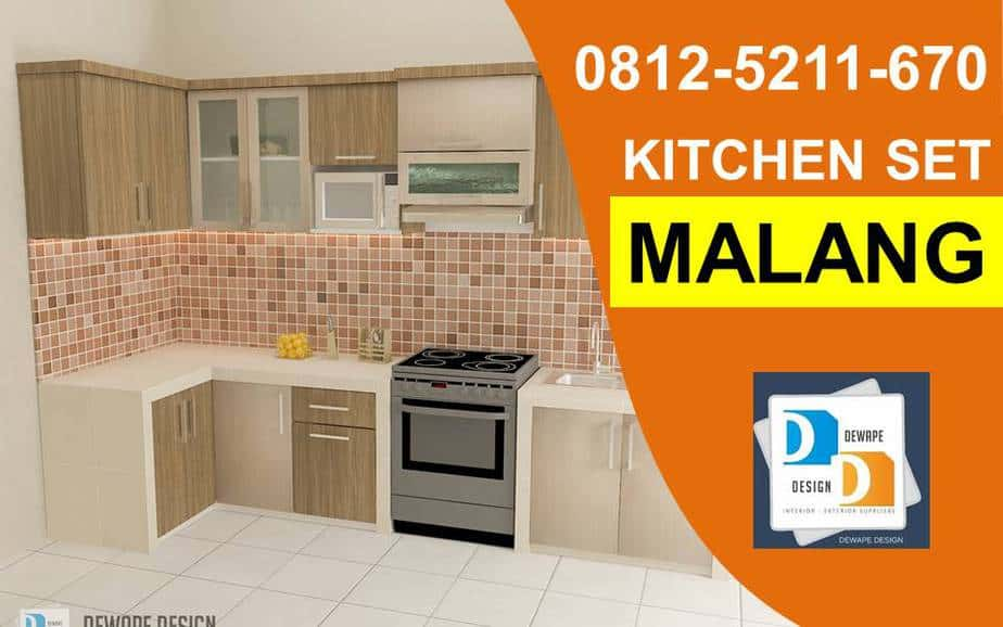 Jasa Pembuatan Kitchen Set Malang Kitchen Set Malang Dewape